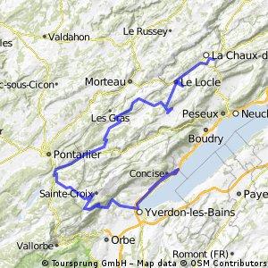 La Chaux-de Fonds - Sainte Croix