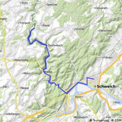 Schweich-Ehrang-KylltalRadweg-Daufenbach
