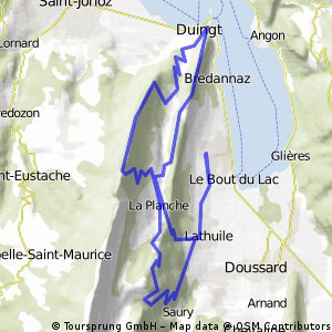 MTB route van camping fontaines