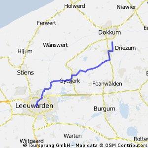 Test Dokkum-Leeuwarden
