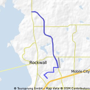 Rockwall Rotary Hot Rocks 2014 13 / 23 Mile Routes