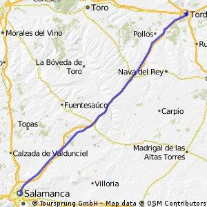 Tordesillas - Salamanca