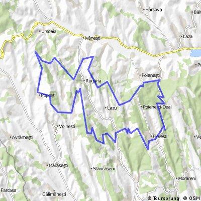 Racova MTB Maraton - traseu maraton
