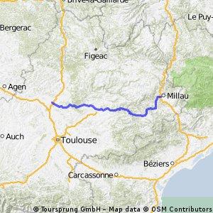 Tour de France 15.Etappe: Millau - Montauban