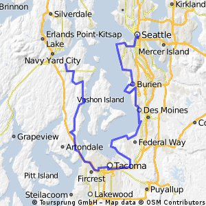 7.Port Orchard - Seattle