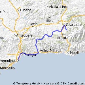 6ª Repa.M. Eta  Benalmadena , La Zubia 167,1 km km