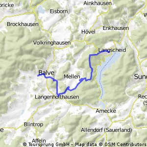 Schwimmbad Route