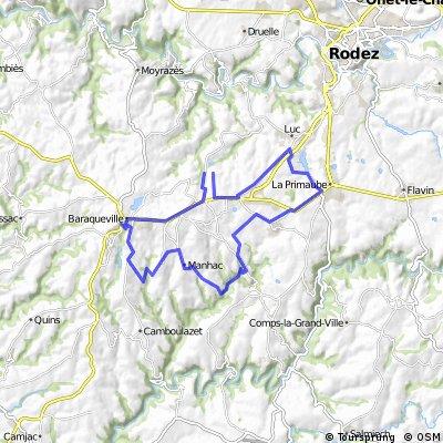 Baraqueville 36,63km