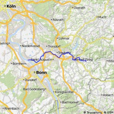 Teilstück Siegradweg