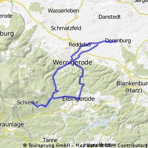 60KM Derenburg - Schierke - Elbingerode - Derenburg.gpx