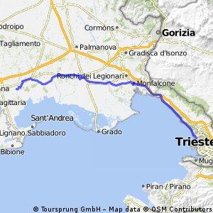 Trieste - Precenicco