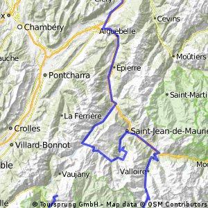 Albertville - L'Alpe d'Huez - 217,5 km