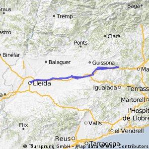 Proposta de Via Transcatalunya