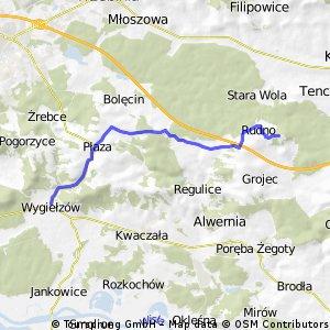 Wygiełzów - Zamek Tenczynek