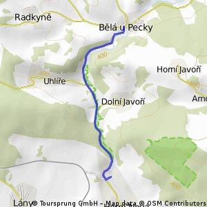 Borovnice - Horní Nová Ves
