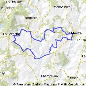 la Noyerie route 1