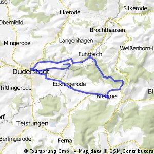 Duderstadt-Sonnenstein-Fuhrbach Rundfahrt