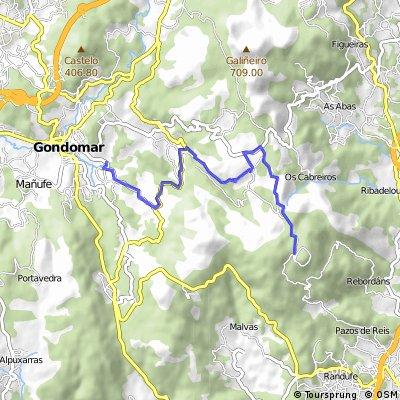 Subida Monte Aloia dende Gondomar II Marcha Oiense
