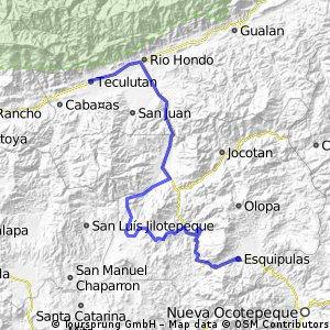 Vuelta a Guatemala 2014 Etapa 1 Esquipulas- Teculutan