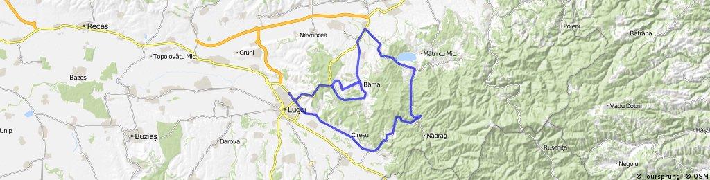 Lugoj-Barna-Surduc-Fardea-Crivina-Lugoj 19iulie2014