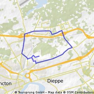 Harrisville route