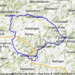 Sulpach-Neidlingen-Hohenstadt-Geislingen- Sulpach