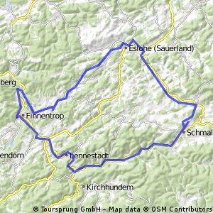 Der Sauerlandradweg