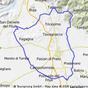 Pavia, Rive d'Arcano, Tarcento