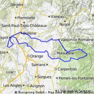 Vénéjan - Mont Ventoux