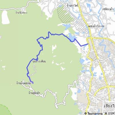 Doi Pui Northern Ridge Route