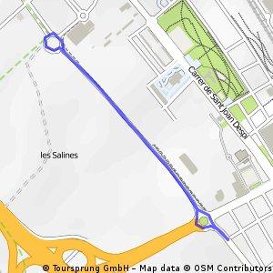Andrew's route