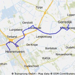 alternatief Gorredijk 20Km