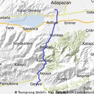 ADAPAZAR-GEYVE