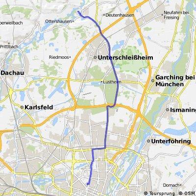 Munich Central to Haimhausen