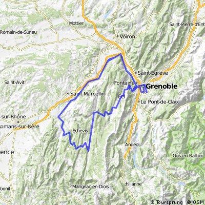 Tour en Vercors - Saint Agnan en Vercors