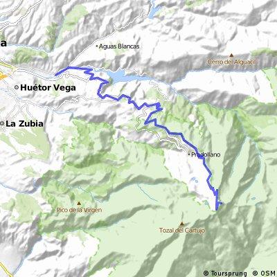 Cenes de La Vega - Veleta (Por Carretera de la Sierra)