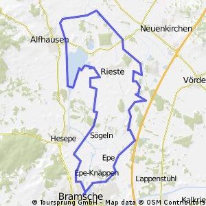 Bramsche-Malgarten-Alfsee-Bramsche