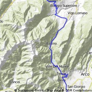 test rond Riva Gardameer