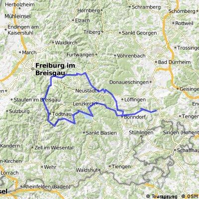 Blumberg-Schluchsee-Todtnau-Kirchzarten-Thurner-Neustadt-Bonndorf-Blumberg