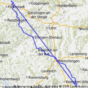 Allgäu Esslingen Tour