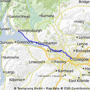 helensburgh to glasgow