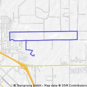 church bike route