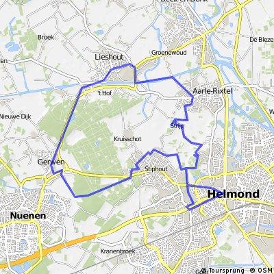 Fietsroute: Een Brabants rondje tussen Helmond en Lieshout