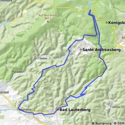 Kleine Südharzrundfahrt
