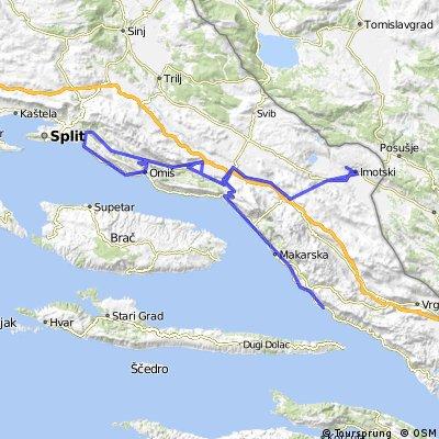 Tour de Poljica & Imotski & Igrane
