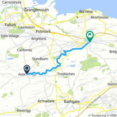 The Ladywell Way -Avonbridge to Linlithgow.