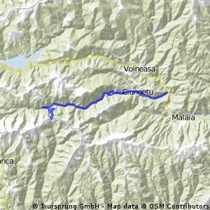 Valea Macesului-Petrimanu-Curmatura Oltetului