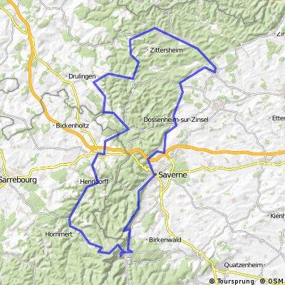 A la découverte des Vosges du Nord - Boucle A