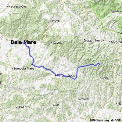 Baia Mare-Grosii Tiblesului-Muntii Tibles