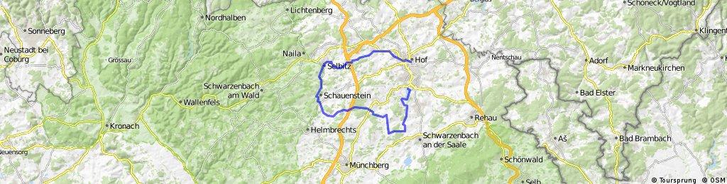 ADFC-Hof: Tour zum Birkenfest in Ambranz